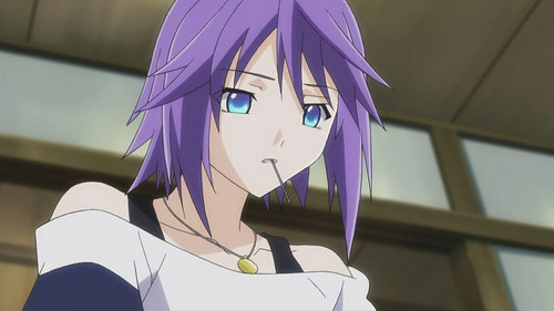mizore working hard