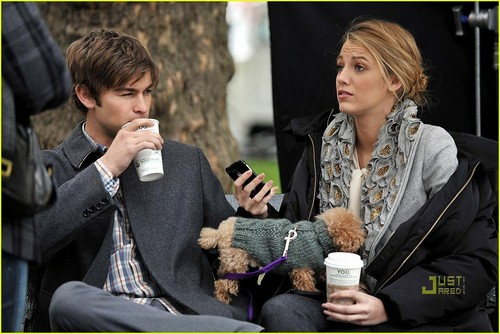 Blake & Chace filming in NYC (14th october)