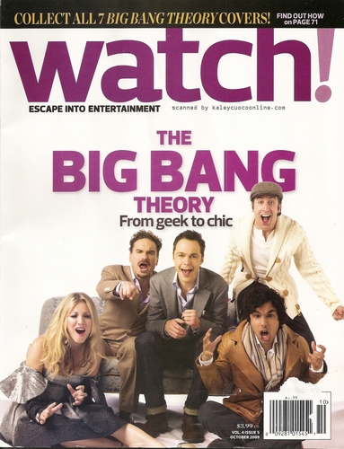 CBS Watch Magazine (cover with the hole cast)