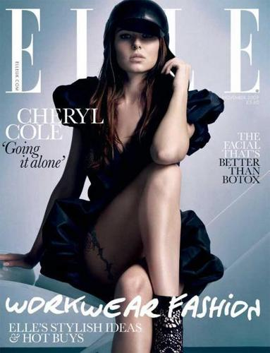 Cheryl in Elle Magazine