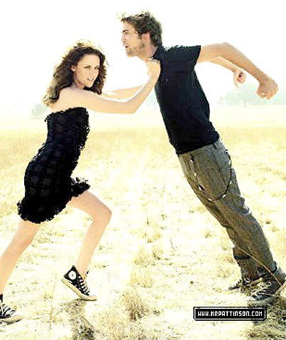 Robert Pattinson, Kristen Stewart in Vanity Fair