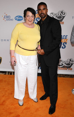 Shemar and his mom