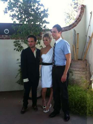 The Big Bang Theory Photocall (Johnny, Kaley and Jim)