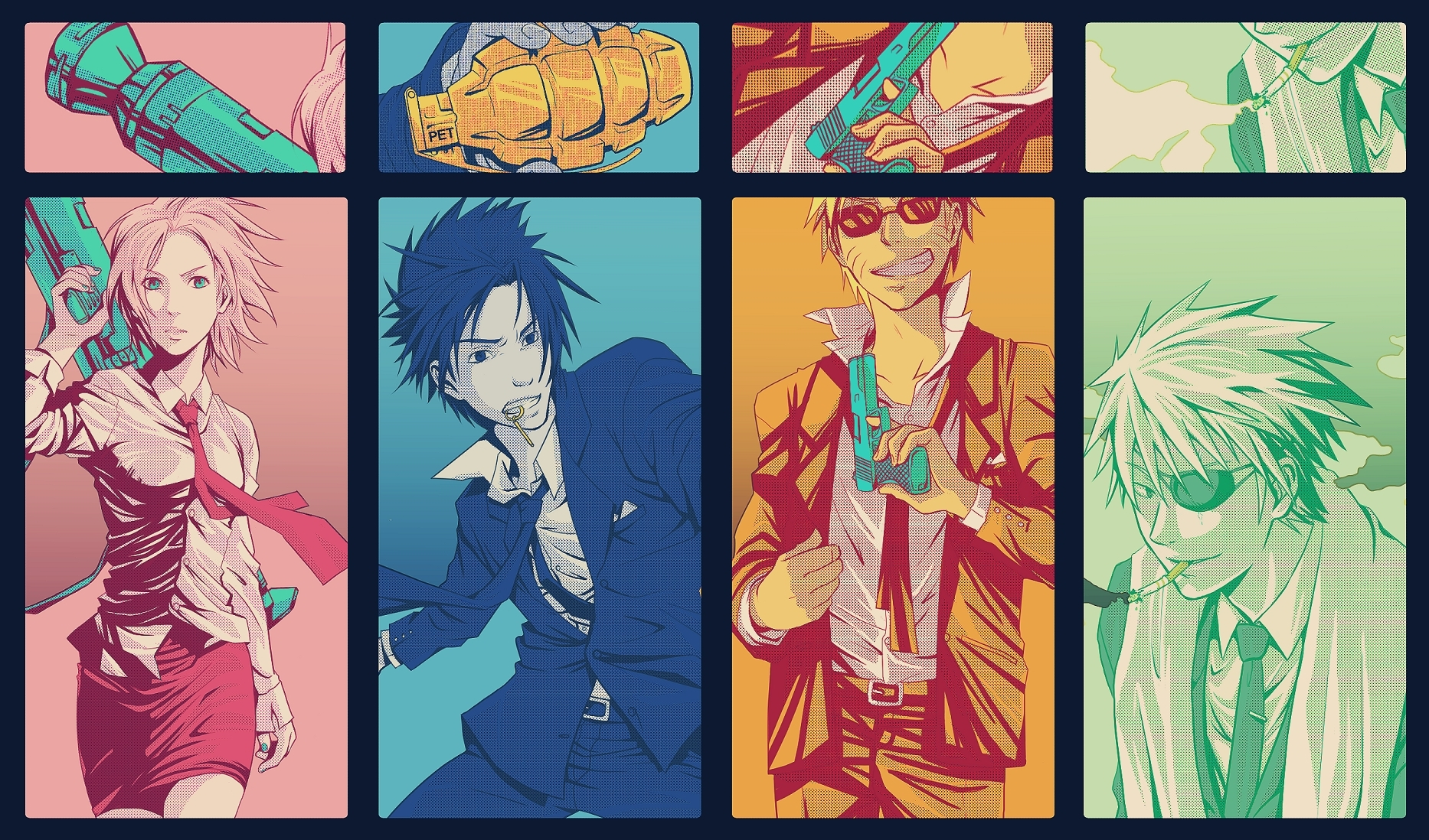Gangsta Fond D Ecran Naruto Fan Art 8727364 Fanpop