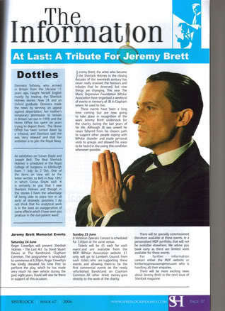 JB tribute article