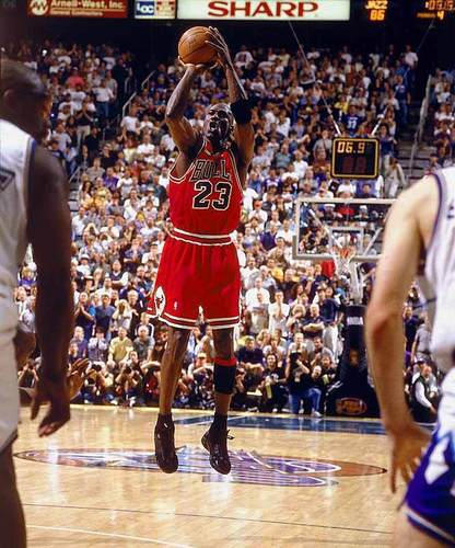 Michael Jordan's Last Shot As A touro
