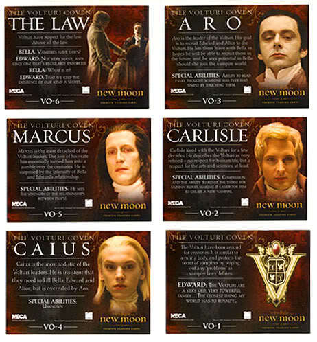 NEW New Moon Trading cards!
