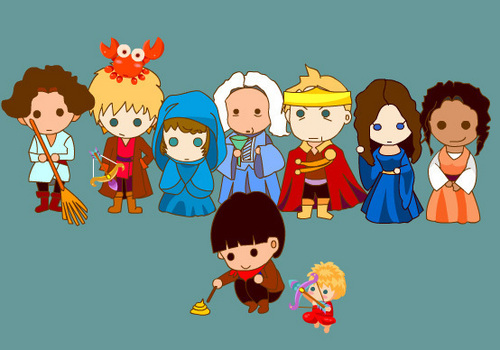 Cartoon merlin cast