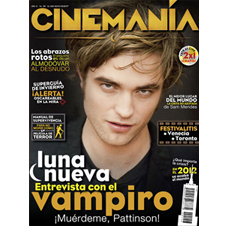 "Cover Mexican Magazine ""Cinemania"" November"""