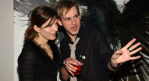 Dom at the Melora Walters Exhibition