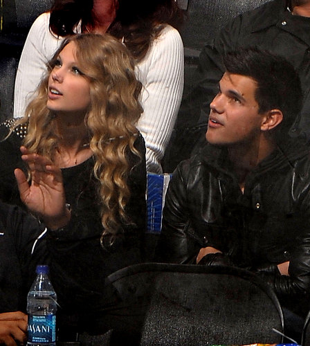 Taylor and Taylor Take In a Hockey Game