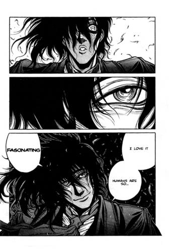 the captain - hellsing manga