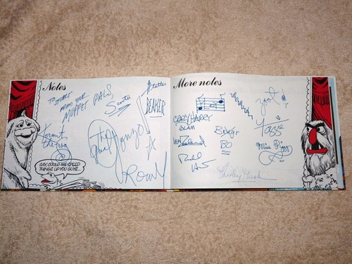 1979 Diary cover and autographs
