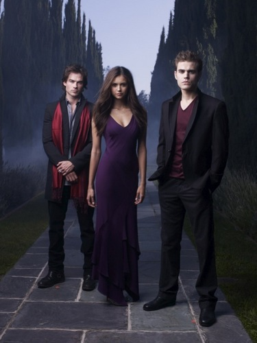 Damon, Elena and Stefan