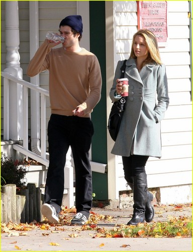 Dianna Agron and Adam Brody