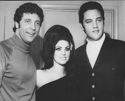 Elvis and Prescilla with Tom Jones