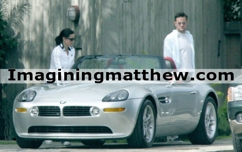 Matthew and Courteney