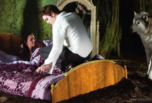 New Moon cast - behind the scenes