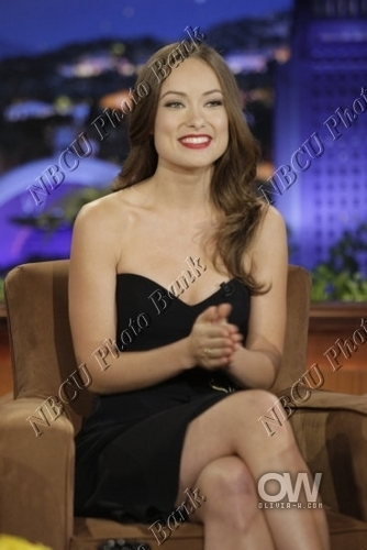 Olivia @ The Tonight Show with Conan O'Brien