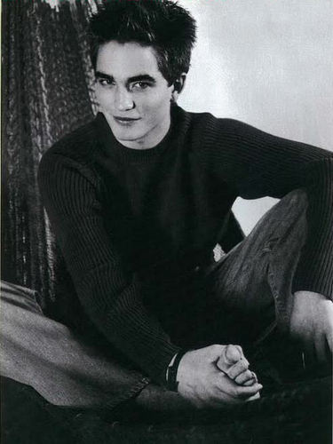 Young Robert Pattinson