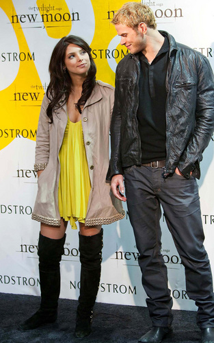 Ashley Greene and Kellan Lutz Team Up in San Francisco