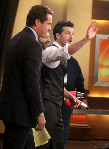 Patrick Dempsey on Good Morning America