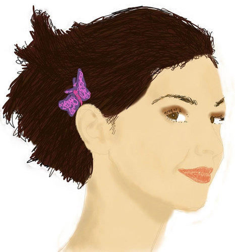 Rough Vector of Ashley Judd