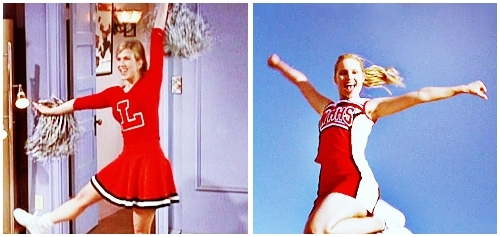 02 - Rachel's daughter would be the head cheerleader