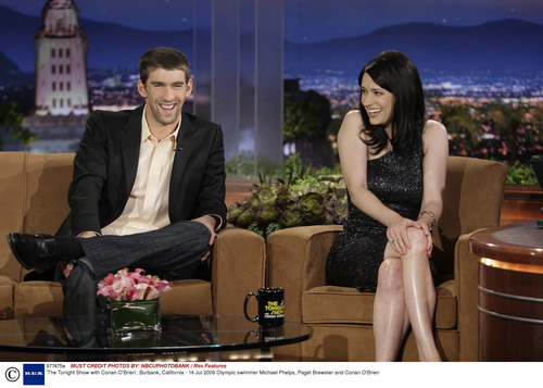 Paget on Conan Late Night Show