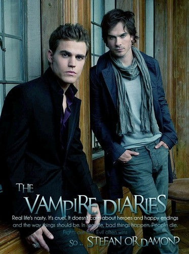 Poster. - Stefan or Damon?
