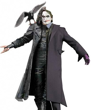 The Joker vs. The Crow