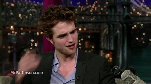 rob on letterman