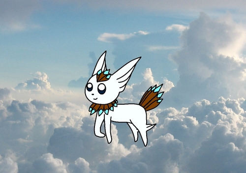 Aveon-the flying-type evolution of eevee