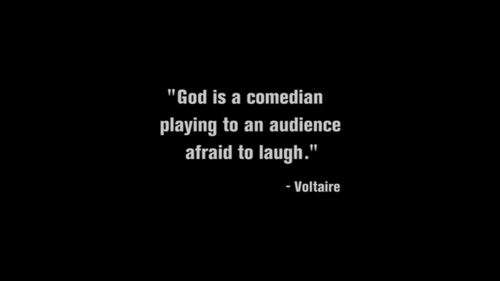 God is a Comedian