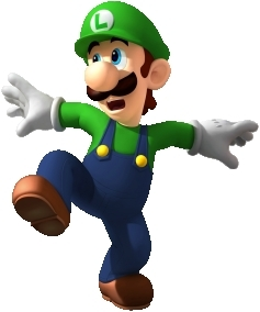 Luigi in Mario Party DS