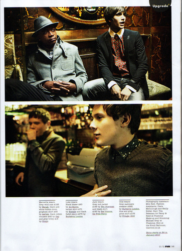 Skins Cast in FHM