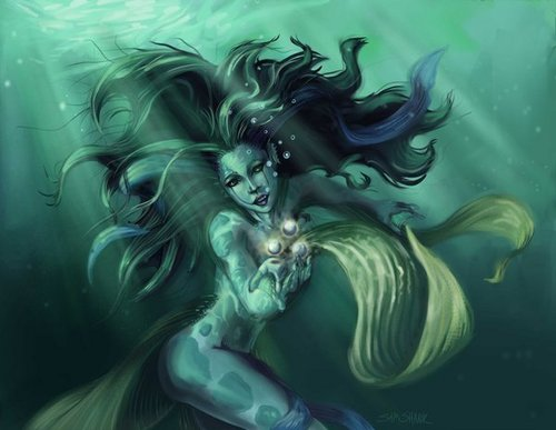 The Nereid who helped Percy...