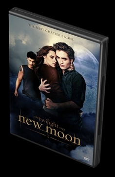 fanmade new moon dvd cover