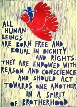 """All Human Beings Are Born Free and Equal"""
