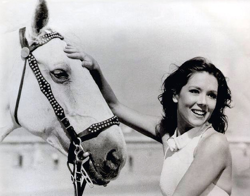Diana and horse