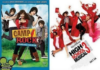 High School Musical vs Camp Rock