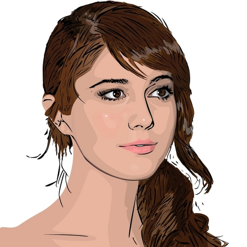 Mary Elizabeth Winstead Flash Drawing