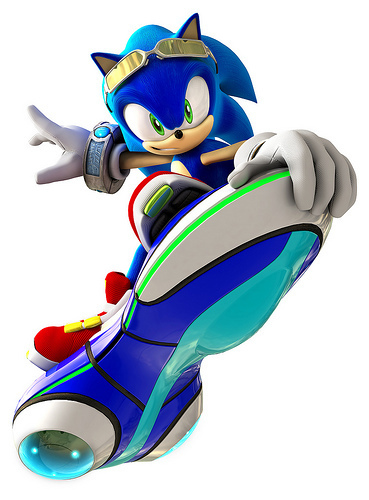 The cool Sonic.