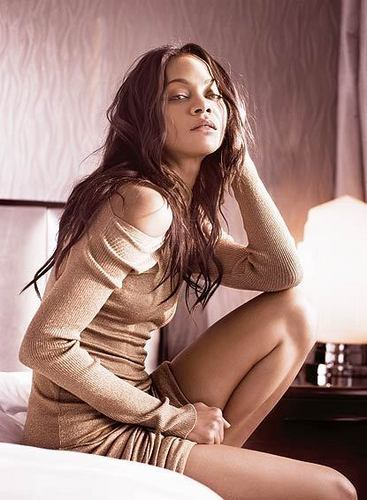Zoe Saldana | ロンドン Evening Standard Photoshoot