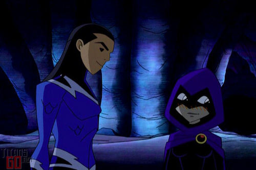 Aqualad and Raven