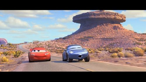Lightning McQueen and Sally