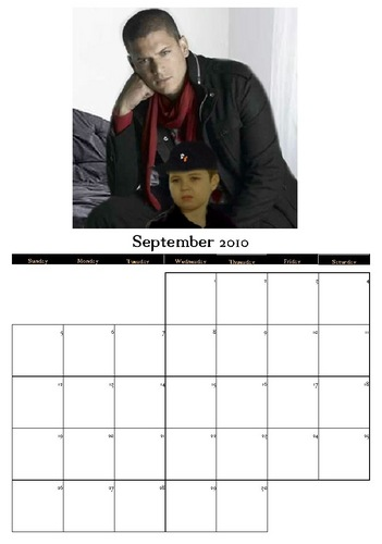 Prison Break Calendar 2010 - September