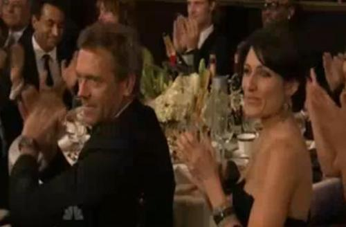 Hugh and Lisa at GG 2009?