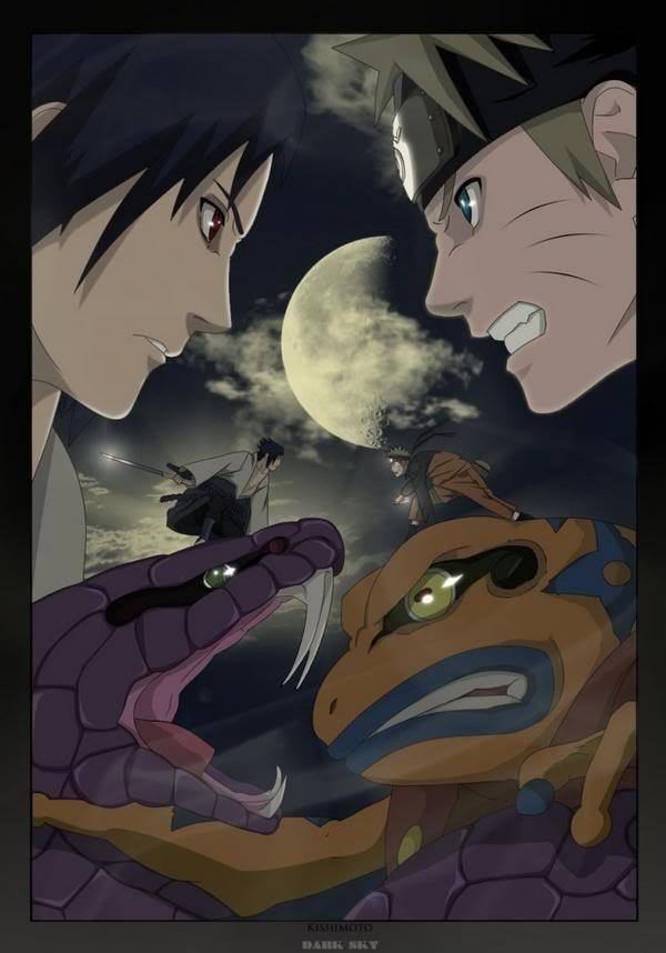 Naruto Vs Sasuke uzumaki naruto shippuuden 9658006 600 858