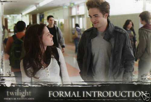 New Twilight Stills (Trading Cards)